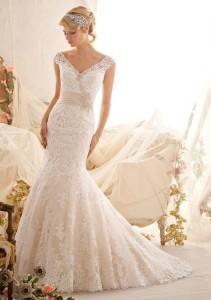 Свадебное платье в стиле Годе